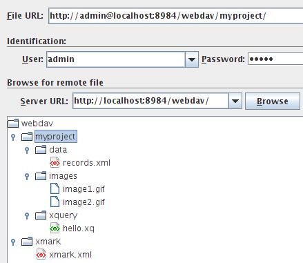 Integrating oXygen - BaseX Documentation